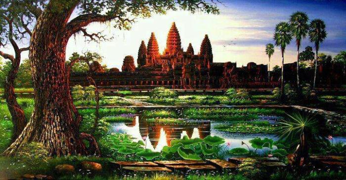 Angkor Wat Khmer